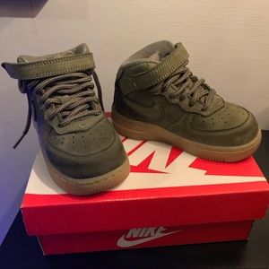 Toddler Boy Force 1 Suede Nike
